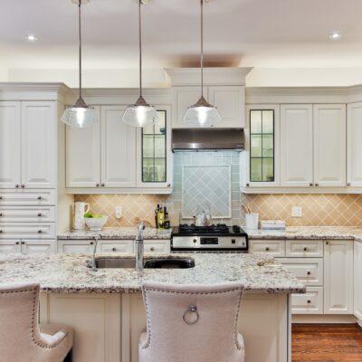 Stones Countertops in Kitchen