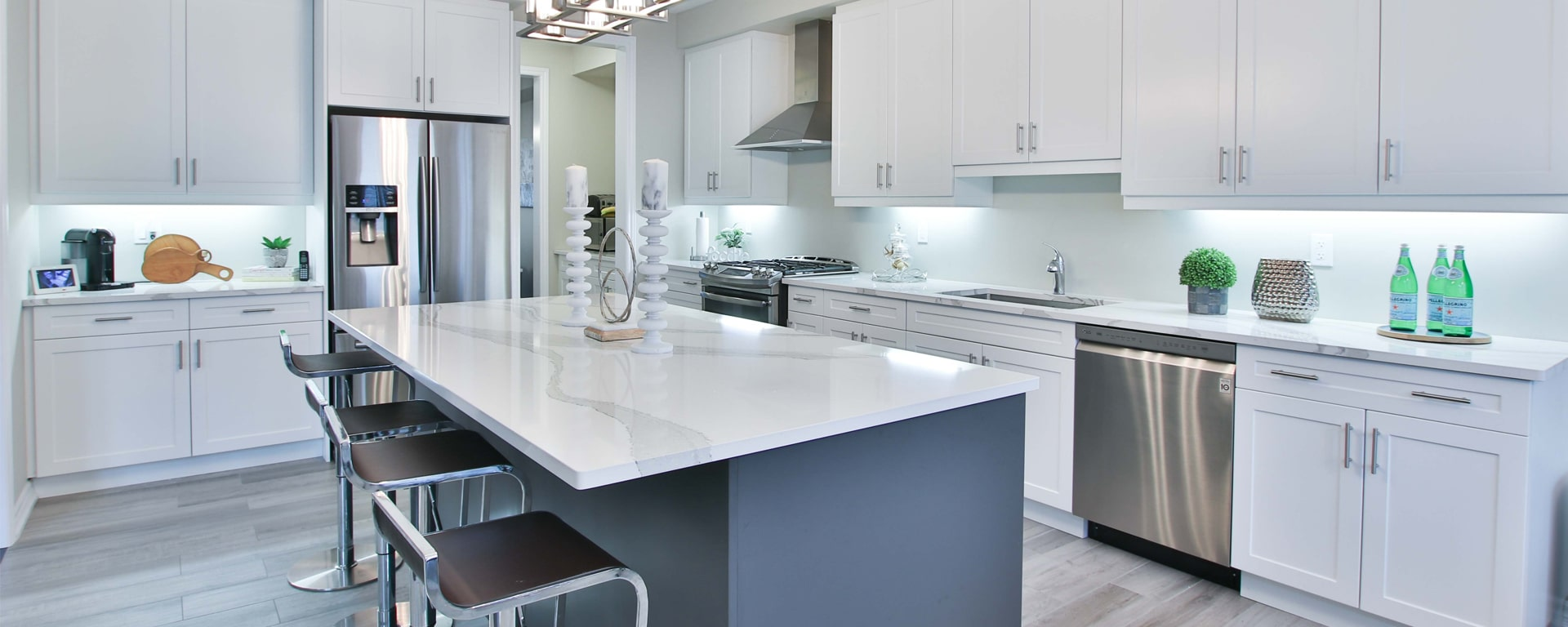 Stone Countertops in Kitchen