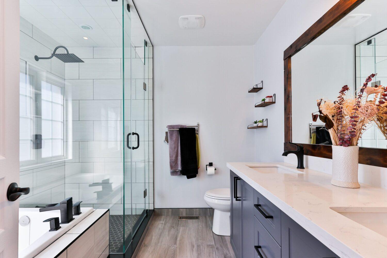 Stone Countertops Install In Washroom